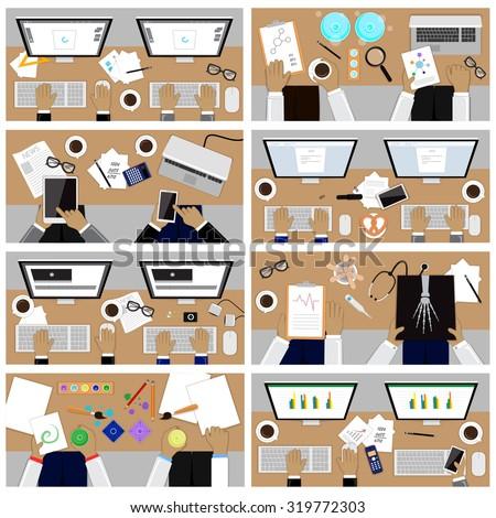flat design illustration
