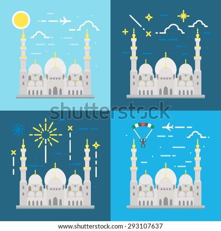 flat design of sheikh zayed
