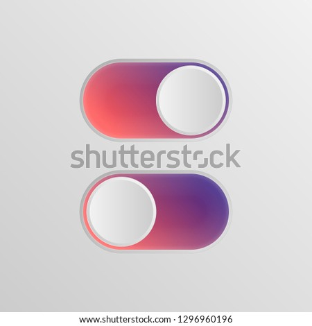 flat icon colorful switchers