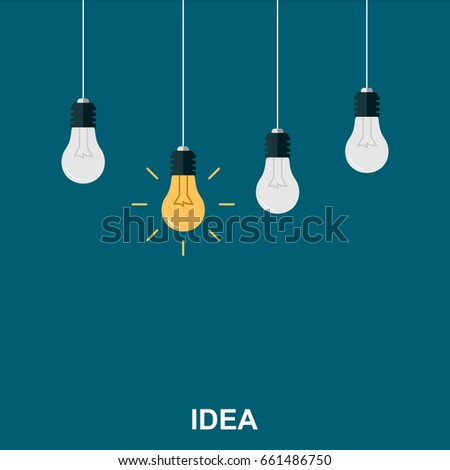 flat illustration concept of - Idea Design