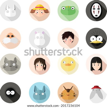 flat illustration of characters