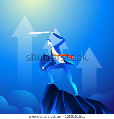 flat isometric vector concept