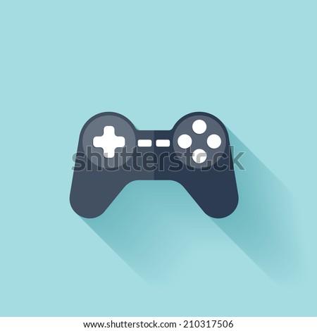 flat joystick icon