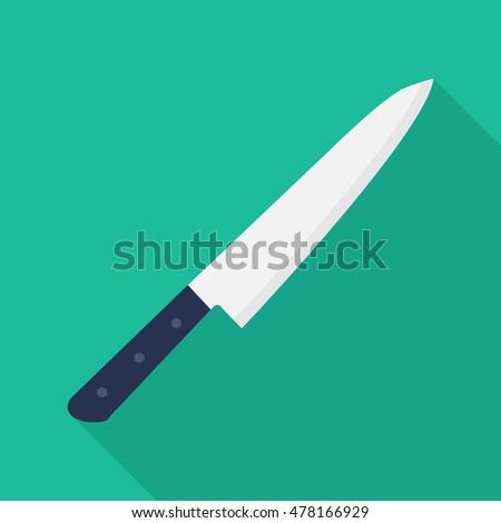 flat knife icon  knife icon