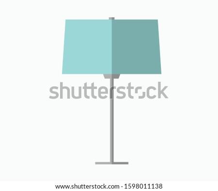 Flat Lamp design vector lamp minimal design lamp post
