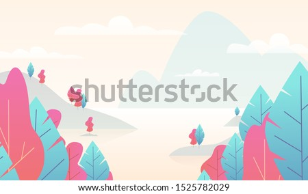 flat minimal landscape