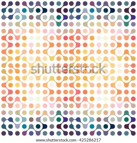flat multicolor molecules