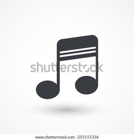 Flat Music Icon