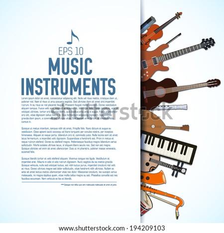 flat music instruments