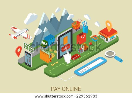 flat online web site shopping