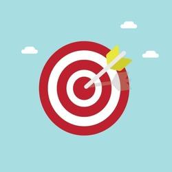 flat target