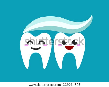 Flat Tooth Character