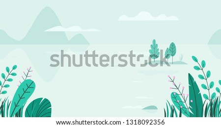 flat vector background of