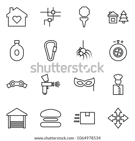 flat vector icon set   family