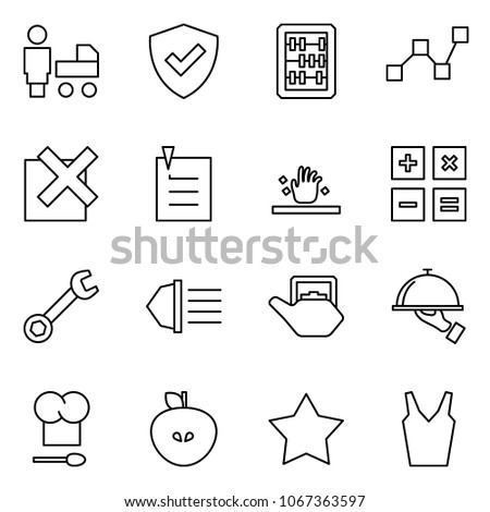 flat vector icon set   mother