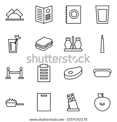 flat vector icon set   wipes