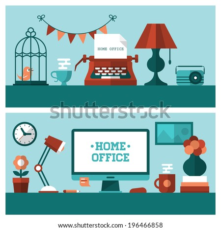flat vector illustration of...