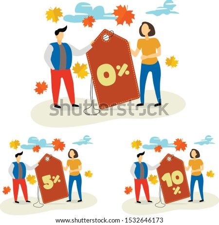 flat vector illustration with