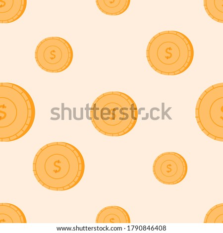 flat vector seamless pattern