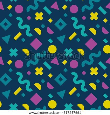 flat vector texture of