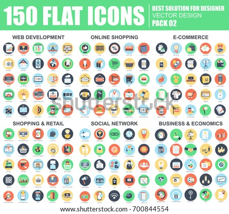 Free webshop vector icons download free vector art stock graphics flat web development online shopping e commerce retail social network altavistaventures Images