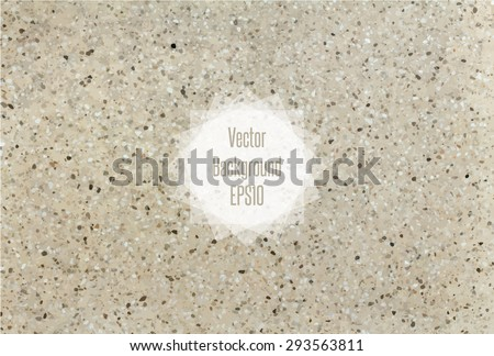 Flecked Stone Texture In Beige And Blown Colors Vector Illustration EPS10