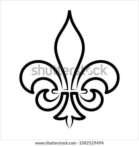 Fleur De Lis Vector Shapes Download Free Vector Art Stock