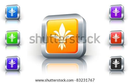 Fleur Illustration metallic fleur de lis vectors - download free vector art, stock