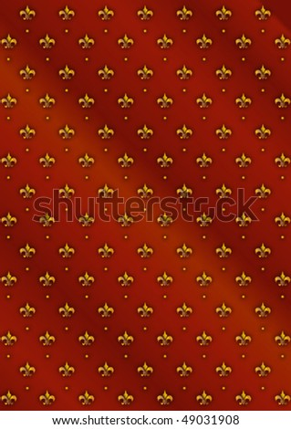 Y878naly Fleur De Lis Wallpaper