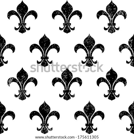fleur de lys background with