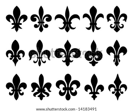 Royal Lily Vector Pattern Download Free Vector Art Stock Graphics