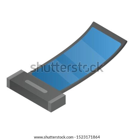 Flex invention gadget icon. Isometric of flex invention gadget vector icon for web design isolated on white background