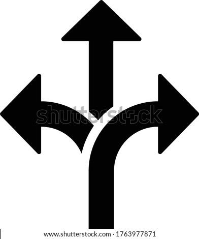 flexibility icon, vector illustration.arrow icon vector Foto stock ©