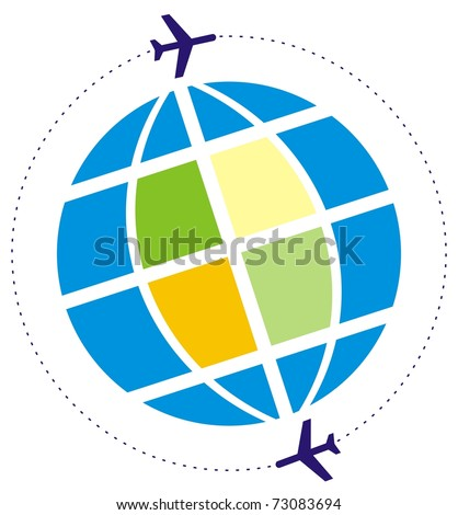 flight around the globe