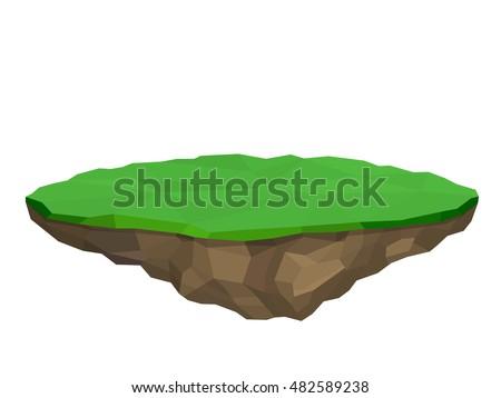 floating island  vector