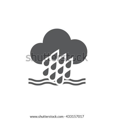 flood icon  flood icon eps