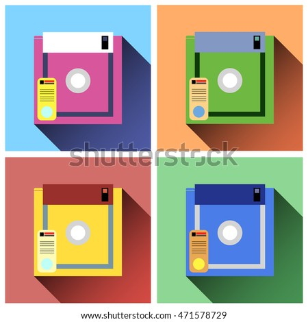 floppy disc icons