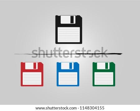 Floppy Disk, Floppy Disk Icon, Save Icon