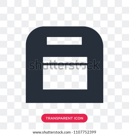 Floppy disk vector icon isolated on transparent background, Floppy disk logo concept