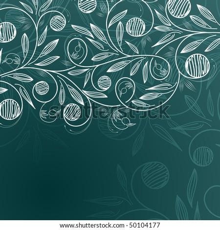 floral background eps8