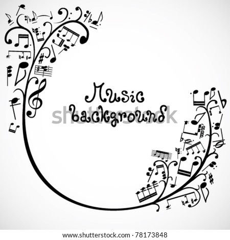 Music notes music notes on scary backgrounds for desktop