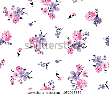 floral bouquet vector pattern