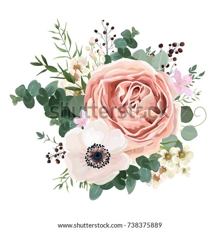 floral card vector design