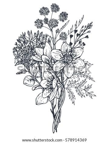 floral composition bouquet