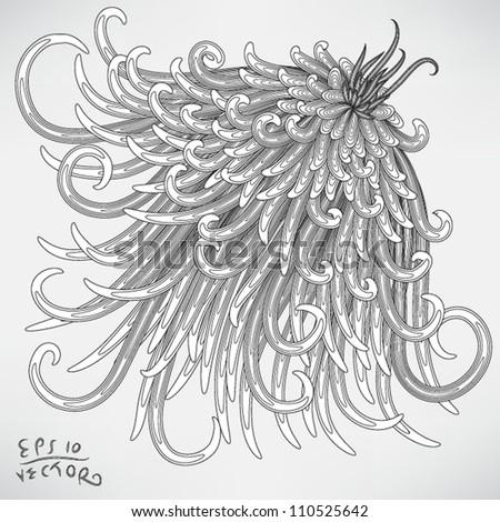 Floral Elements for design, EPS10 Vector background