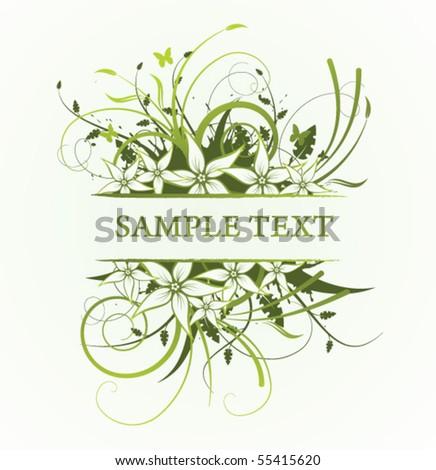floral frame #55415620