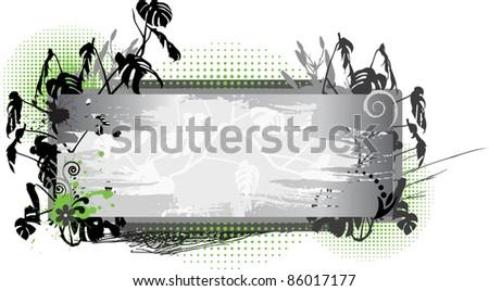 Floral frame IV