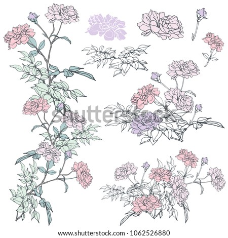 stock-vector-floral-hand-drawn
