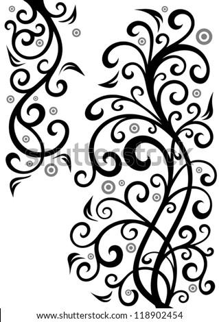 Floral illustration. - stock vector
