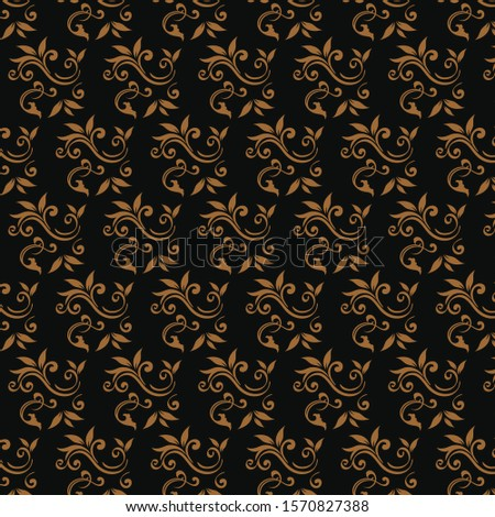 floral modern pattern background texture with elegant, elegant, ornate styles